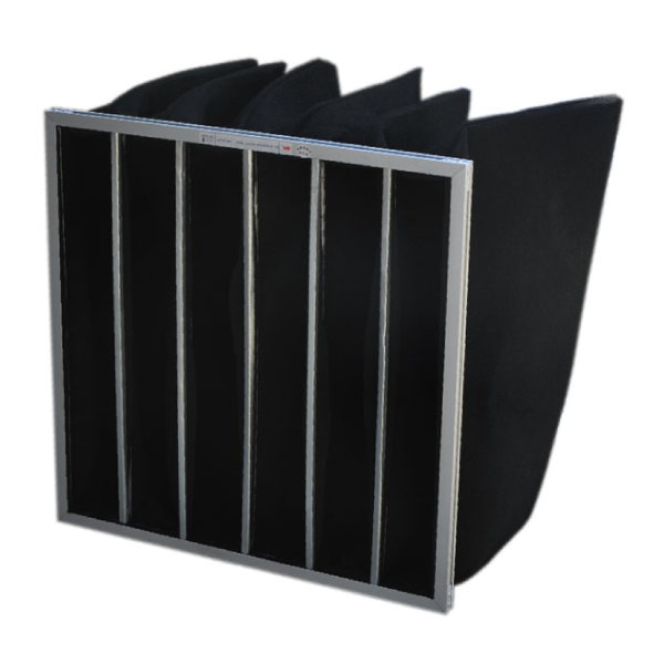 AdvaPak Carbon Multi Pocket Bag Filter